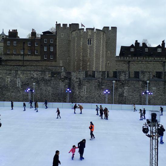 tower ice skating